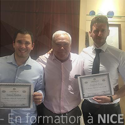 Fin de formation Stradi Conseils à Nice