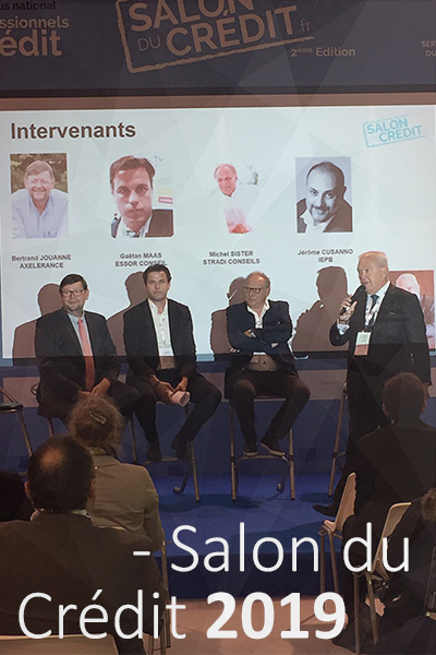 Participation au Salon du Crédit 2019