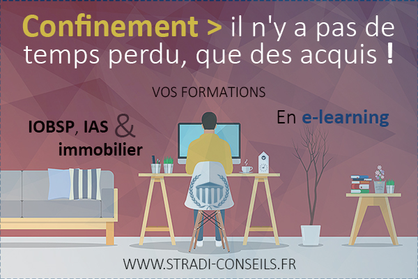 Confinement formation e-learning iobsp ias immobilier