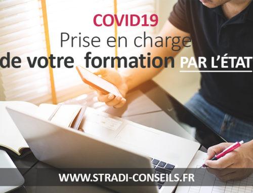Covid19 : formations prises en charge pendant le confinement