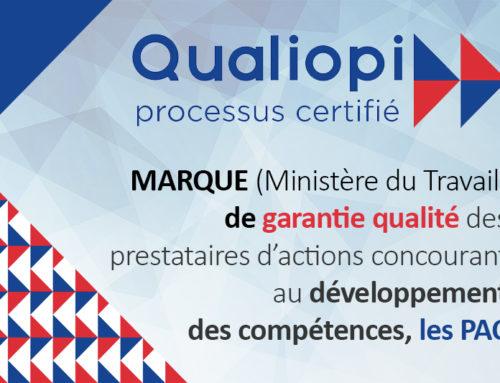 Stradi Conseil déjà certifié Qualiopi !